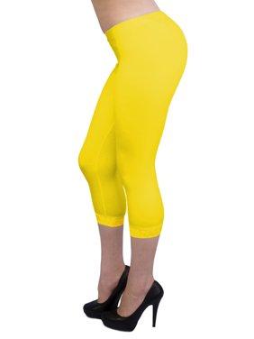 1a76da198dc40 Product Image Vivian's Fashions Capri Leggings - Cotton, Lace (Misses and  Misses Plus Sizes)