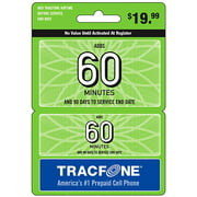 (Email Delivery) Tracfone 60-Minutes Wireless Airtime Card