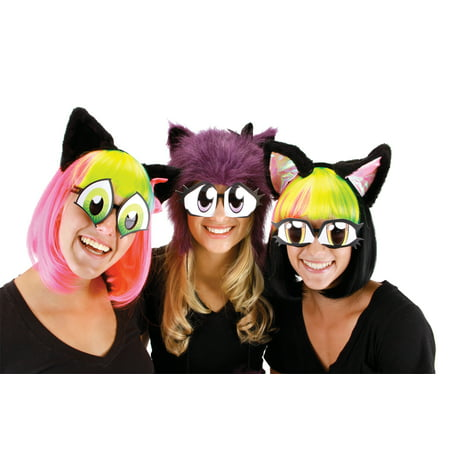 Cartoon Eyes Set Halloween Accessory](Mutts Cartoon Halloween)