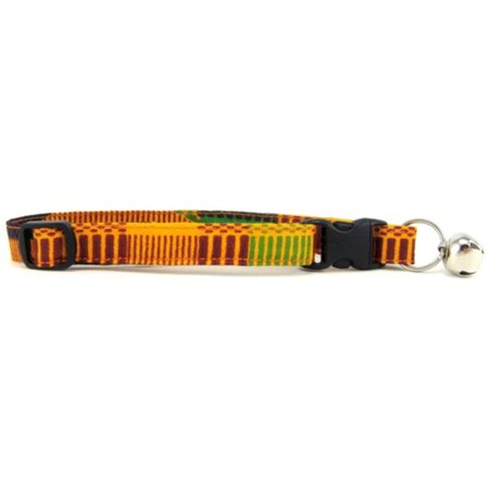 Kente Print Cat Collar