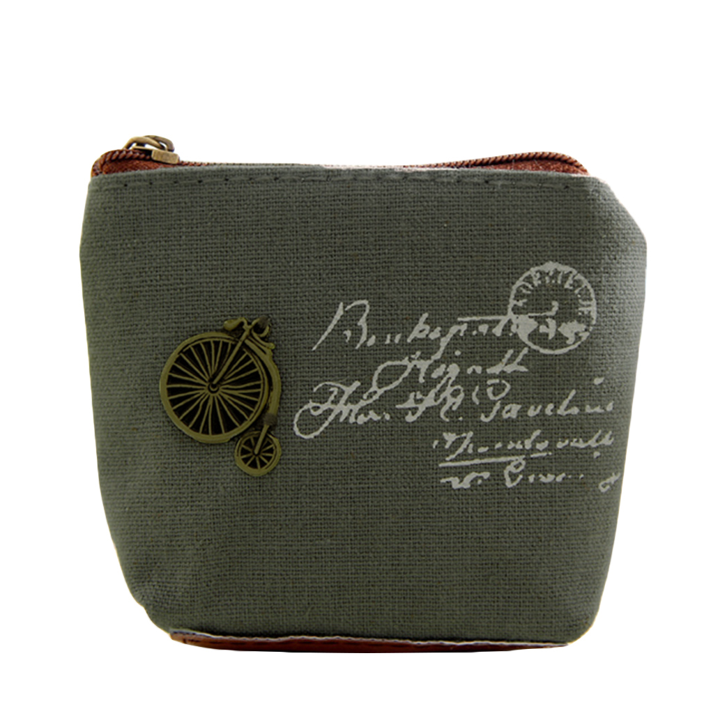 Zippered Change Pouch Coin Purse