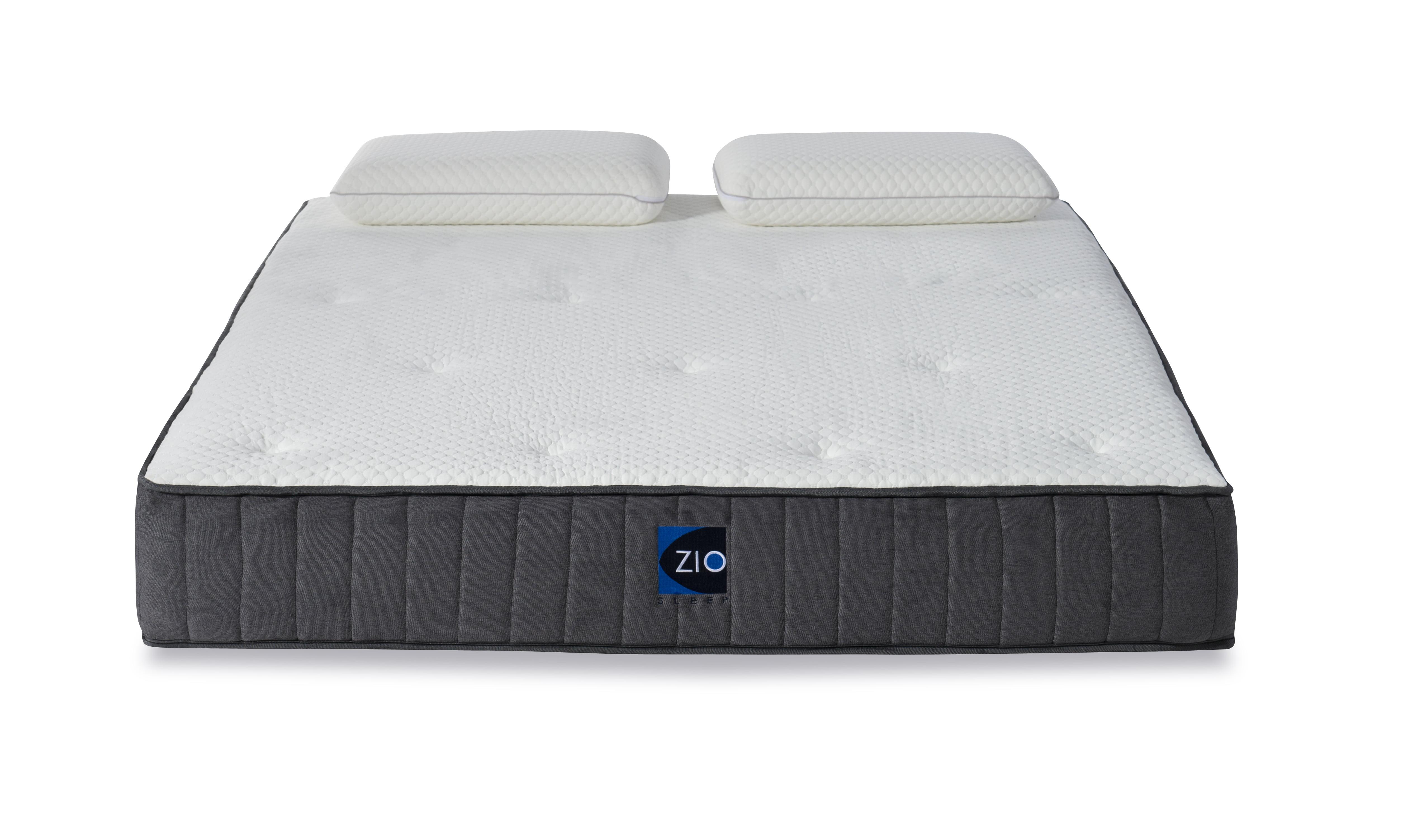 Zio Sleep 10 Inch Queen Gel Infused Memory Foam Mattress