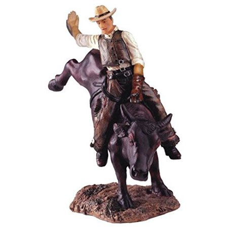 StealStreet SS-G-11327, Cowboy Bull Rider Collectible Western Rodeo Figurine Statue (Bull Rider Rodeo)