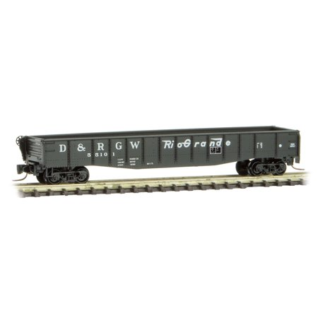 Micro-Trains MTL Z-Scale 50ft Gondola Denver & Rio Grande Western/DRGW (Stores In Denver Co)