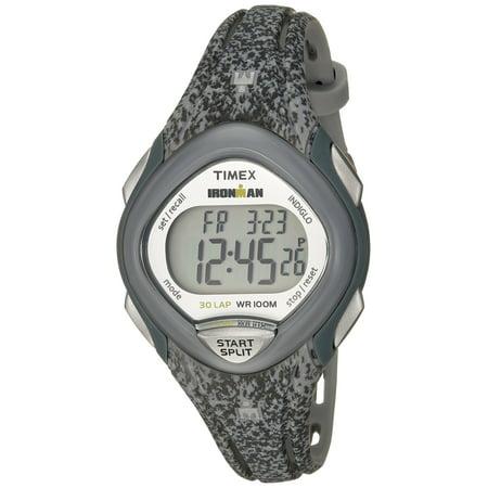 Women's Ironman Sleek 30 Gray Speckled Watch, Resin Strap