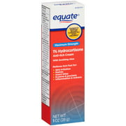 Equate Maximum Strength 1% Hydrocortisone Anti-Itch Cream, 1 oz