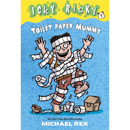 Icky Ricky #1: Toilet Paper - Halloween Mummy Toilet Paper Games