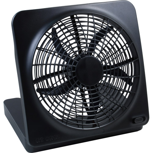 O2 Cool 10 inch Battery or Electric Portable Fan