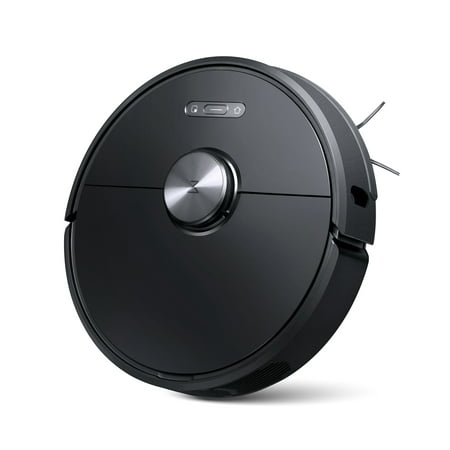 Roborock S6 Robot Vacuum, Robotic Vacuum Cleaner and Mop with Adaptive Routing,Multi-Floor Mapping, Selective Room Cleaning, Super Strong Suction, and Extra Long Battery Life