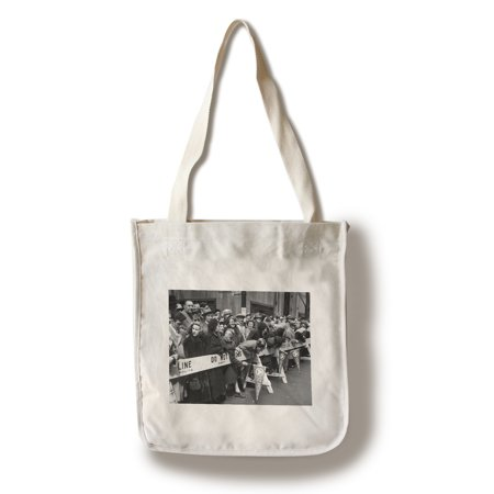 View of Crowd During Saint Patrick's Day Parade NYC Photo (100% Cotton Tote Bag - Reusable) - Nyc Halloween Parade Thriller