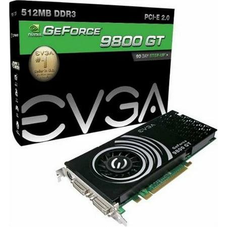 evga 512 P3 N973 BE EVGA GeForce 9800 GT 512 MB DDR3 PCI-Express 2.0 Graphics Card 512-P3