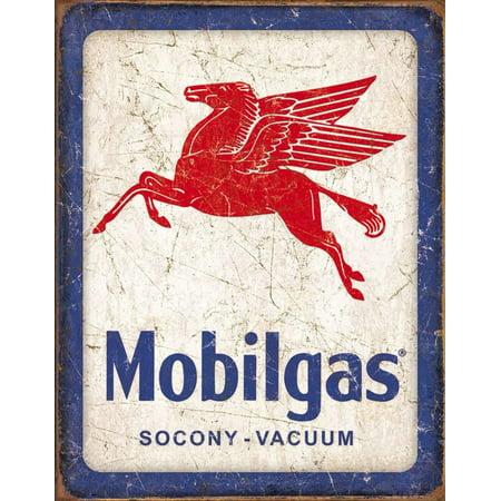 Mobilgas Pegasus Tin Sign - 16x12.5