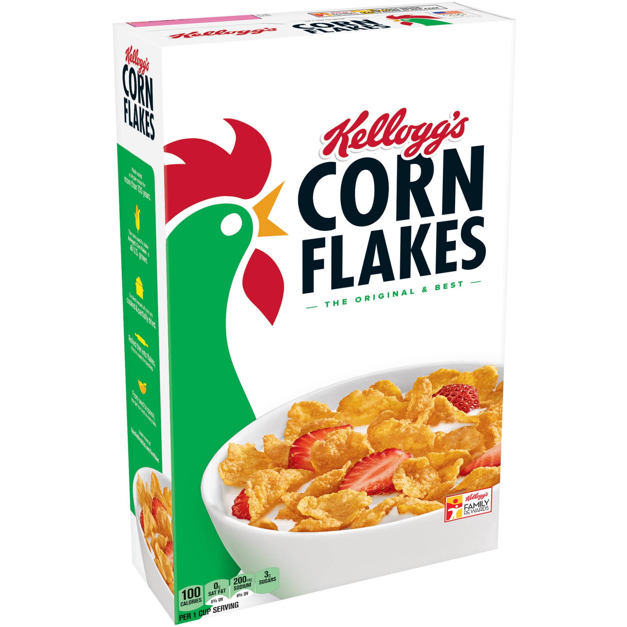 Kellogg's Corn Flakes Cereal, 24 oz