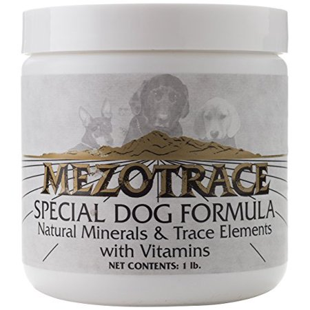 Mezotrace 1400 Special Dog Formula Natural Minerals and Trace Elements, 1 Pound](Pound Dog)