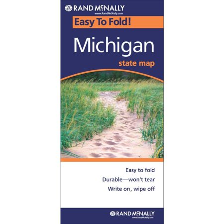 Michigan State Map - Rand McNally Easyfinder: Easy Finder Map Michigan (Other)
