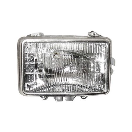 Chevrolet K30 Replacement (Go-Parts » 1981 - 1986 Chevrolet K30 Front Headlight Headlamp Assembly Front Housing / Lens / Cover - Left (Driver) Side 16502325 GM2500113 Replacement For Chevrolet K30 )