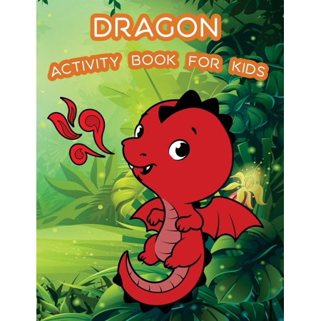 Dragon Activity Book for Kids : : Kids Activities Book with Fun and Challenge in Dragon Theme: Coloring, Color by Number, Word Search, Trace Lines and Letters and More. (Activity Book for Kids Ages 3-5) - Number Lines