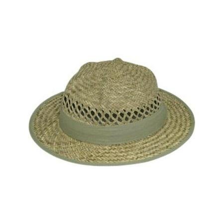 Straw Pith Helmet (Child Lindu Straw Pith Hat)