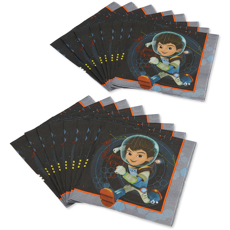 Miles from Tomorrowland Lunch Napkins, 16 Count, Party Supplies