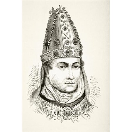 Posterazzi DPI1855820LARGE William of Wykeham 1320 To 1404 Bishop of Winchester Chancellor of England Poster Print, Large - 24 x 36 - image 1 of 1