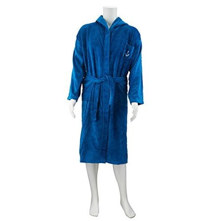 Abstract - Abstract Men s Terry Velour Hooded Bathrobe (Large 7df899f78