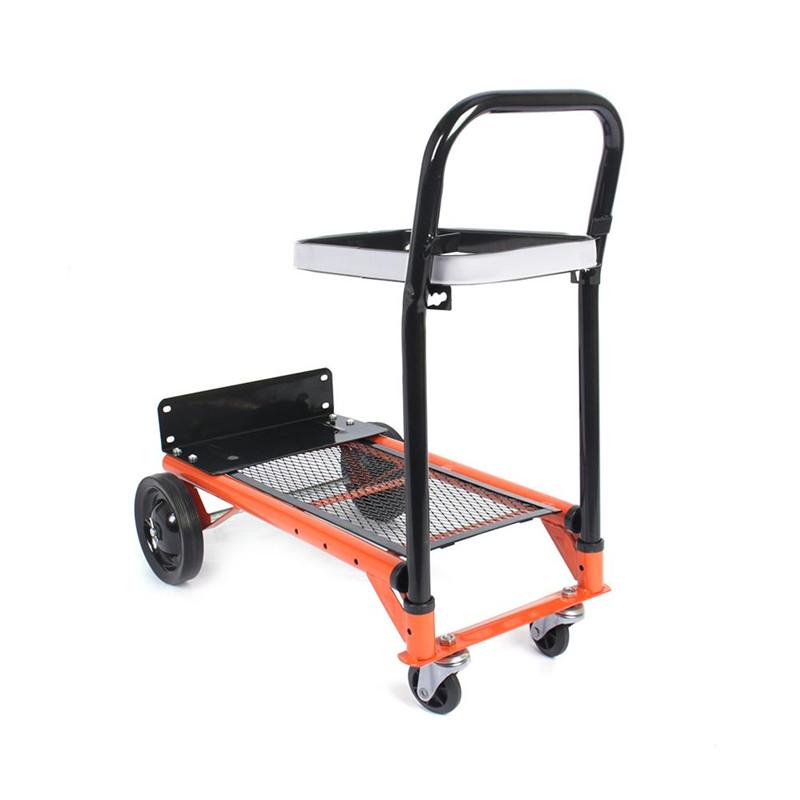 Aramox Garden Platform Cart,Heavy-duty Folding Sack Hand Truck Trolley 80 kg 176lbs Load... by