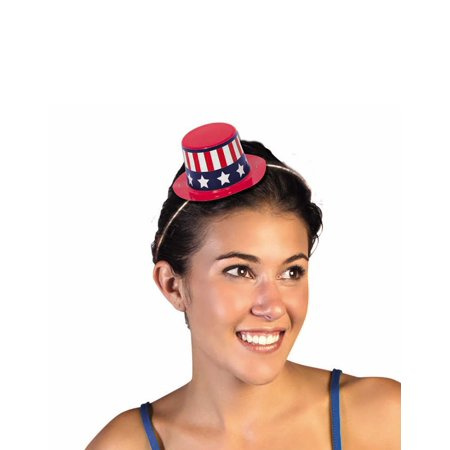 Patriotic 4th Of July Mini Hat 5 Pack Plastic Party Favor Accessories](4th Of July Hats)