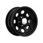 KEYSTONE 2977781 297 Series Wheel, Black - 16 x 7 In.