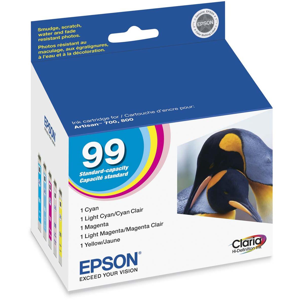 Epson, EPST099920, T099920 Printer Ink Cartridge Set, 1 Pack