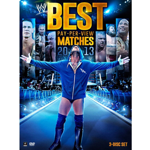WWE: Best Pay Per View Matches 2013 (3-Disc) by WWE HOME ENTERTAINMENT