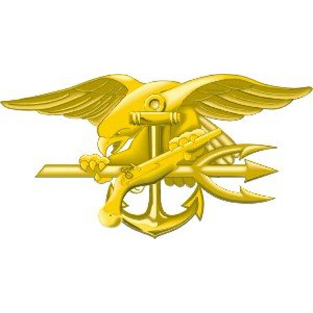 US Navy Seal Team Trident Decal Sticker 5.5