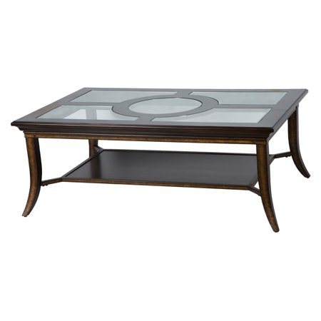 Magnussen Parsons Transitional Gl Top Coffee Table