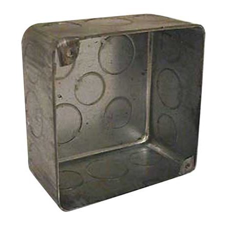 Raco 239 Square Electrical Box, - Plenum Box