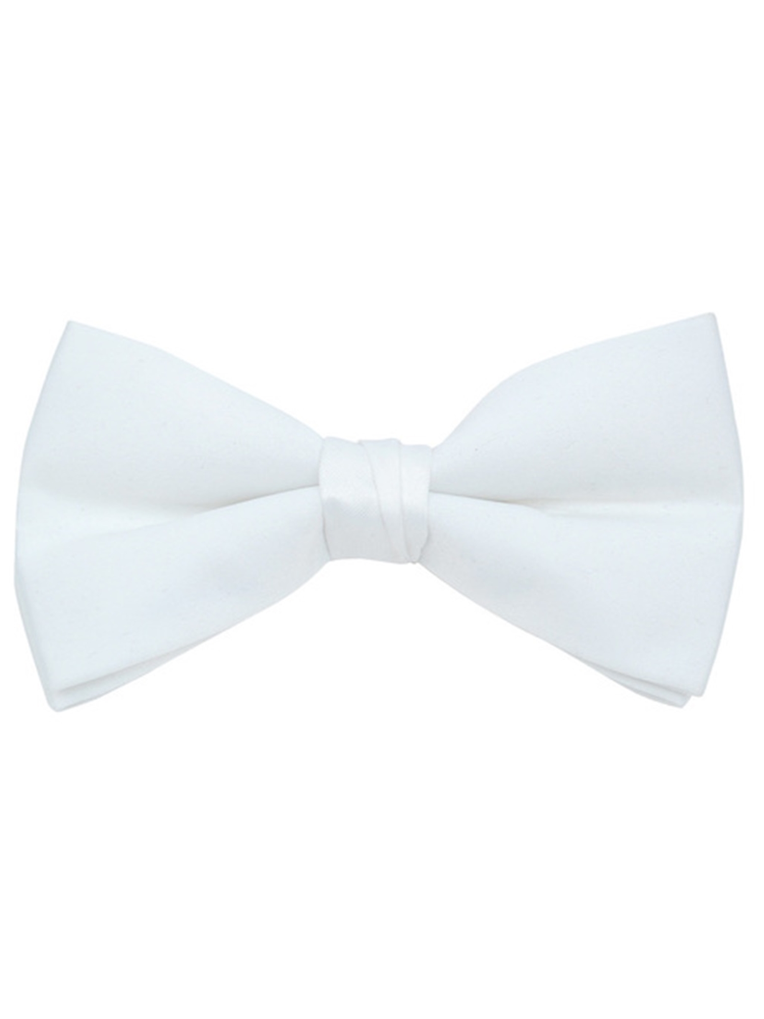 New in box men/'s pre-tied bowtie 100/% silk gray solid formal wedding prom