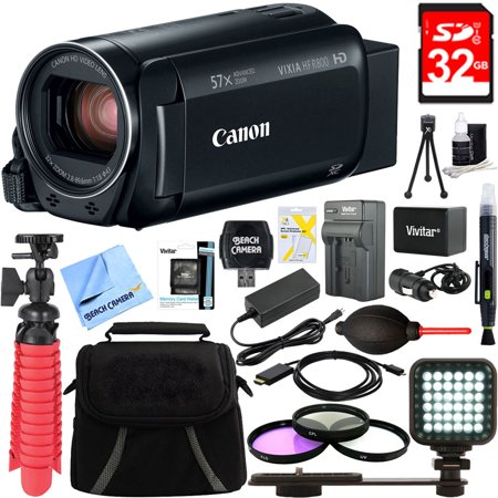 Canon VIXIA HF R800 Full HD Black Camcorder + 32GB Card and Accessory (Canon Vixia Hf G20 Hd Camcorder Review)