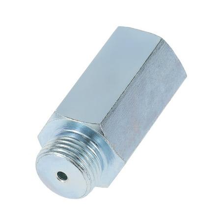 Stainless Steel Oxygen Sensor O2 Lambda Sensor Extender Spacer for Decat & Hydrogen M18 - image 3 of 7