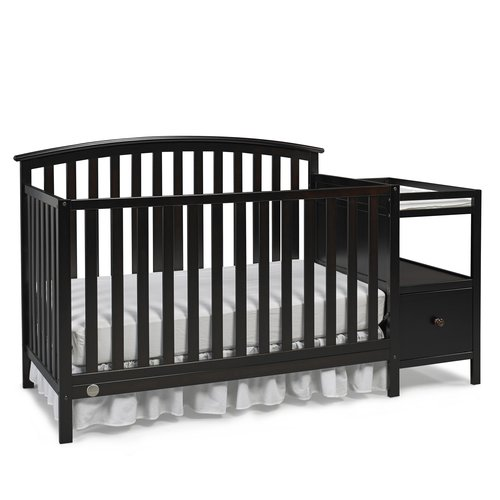 Fisher-Price Huntington Crib n Changer Espresso