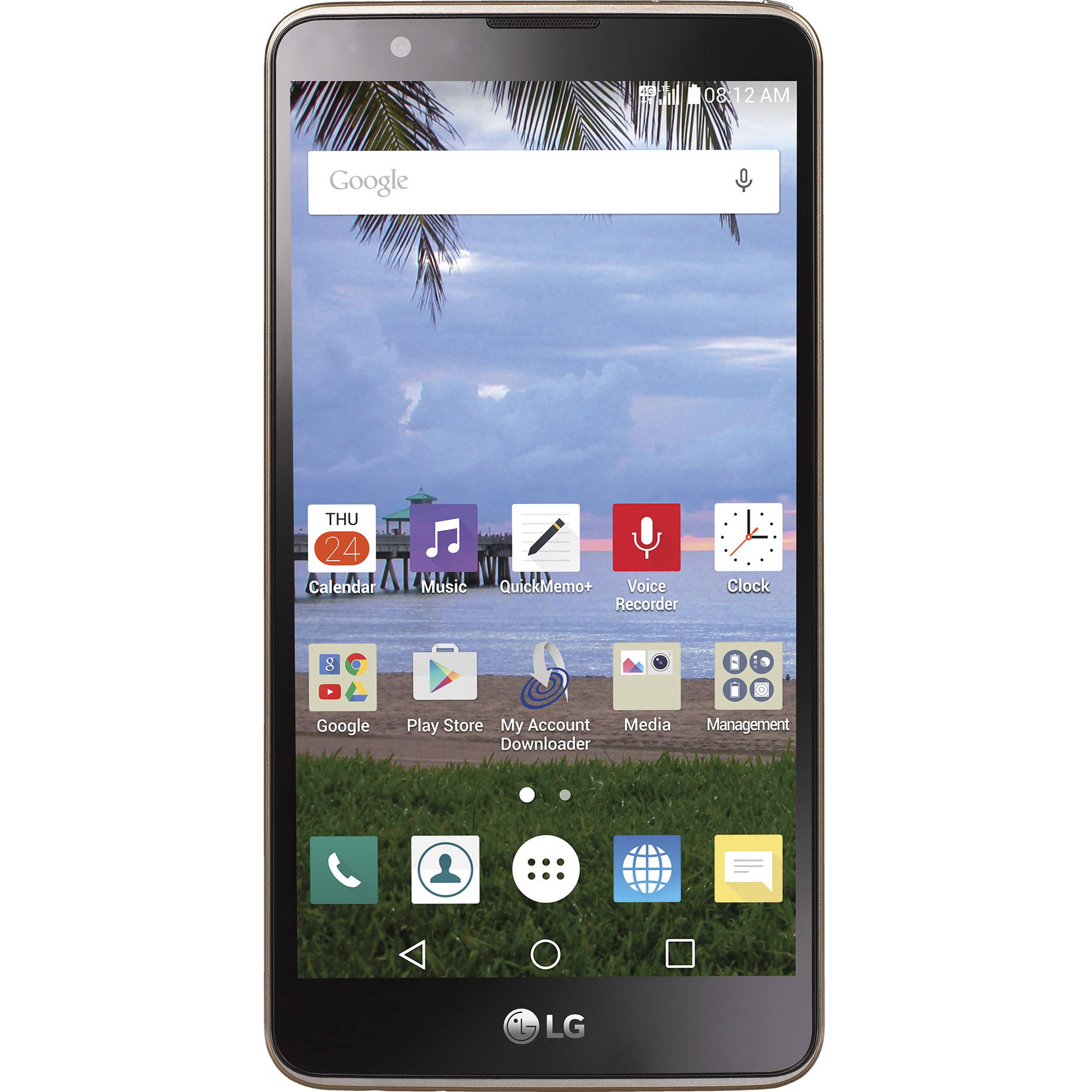 Straight Talk LG Stylo 2 4G LTE GSM Prepaid Smartphone