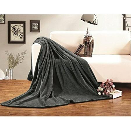elegant comfort micro-fleece ultra plush luxury solid blanket, king/california king, (Comfort Luxury Plush)