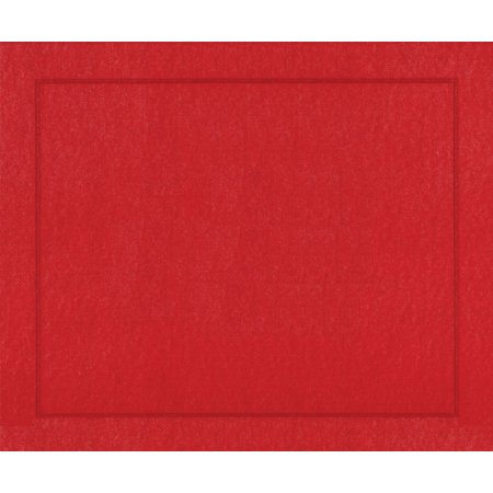 Paper Linen Placemats  Red  Pack Of 10  Easy Size Birthday Conversations Weddings Parties Marine Jaipur Michael Questions Pack Nutcracker Entertaining    By Entertaining With Caspari