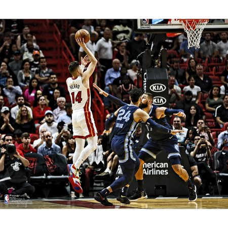 Miami Heat Halloween 2019 (Tyler Herro Miami Heat Unsigned 2019 NBA Rookie Debut)