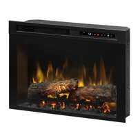 Dimplex Firebox Landscape Front Mount Glass Media Electric Fireplace Insert