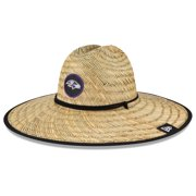 Baltimore Ravens New Era NFL Training Camp Official Straw Lifeguard Hat - Natural - OSFA