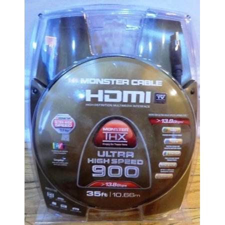Monster Cable Ultra High Speed HDmi Cable 35 feet (Discontinued by Manufacturer)