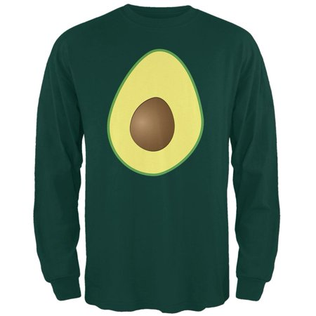 Halloween Avocado Dip (Halloween Avocado Costume Mens Long Sleeve T)