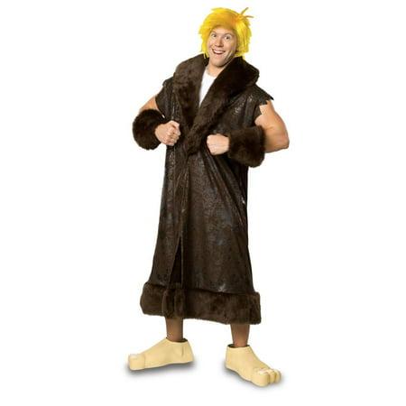 Flintstones Barney Rubble Adult Halloween Costume - Barney Flintstones
