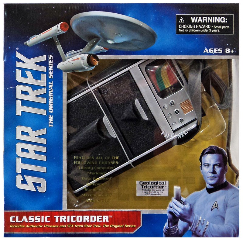Star Trek The Original Series Geological Tricorder Replica by