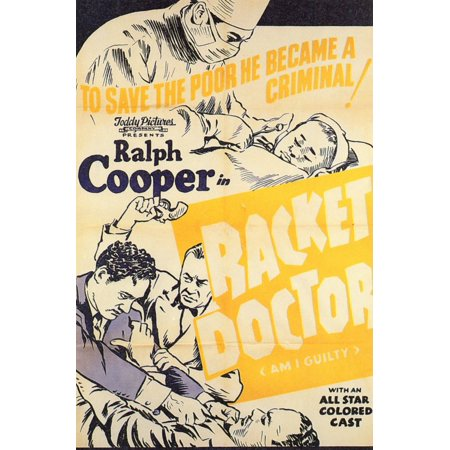 Racket Doctor (1940) Laminated Movie Stretched Canvas 10 x 14