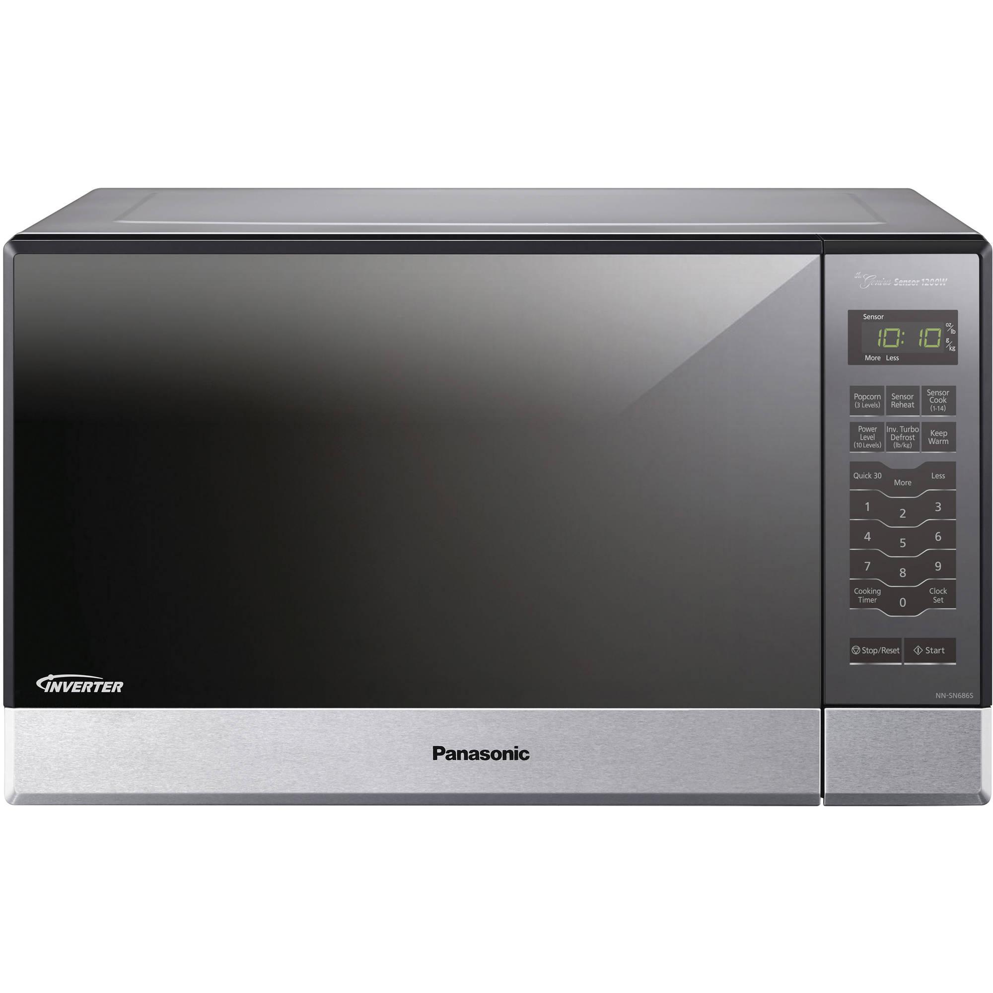 Panasonic 1 2 Cu Ft 1200w Countertop Microwave With