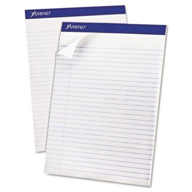 Tops Products 20170 8.5 X 11.75 In. Recycled Writing Pads   White